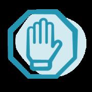 Icon Stopp Hand