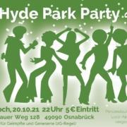 Hyde Park Party Banner